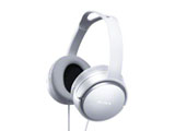 密閉型ヘッドホン(ホワイト)MDR-XD150 W[本体200g以下]