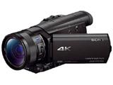 Handycam FDR-AX100 ビューファインダー搭載4Kビデオカメラ ハンディカム