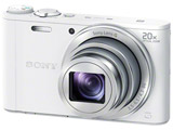 Cyber-shot DSC-WX350 ホワイト 高倍率ズームレンズ搭載デジタルカメラ サイバーショット