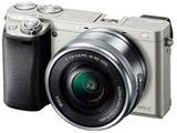 α6000 パワーズームレンズキット ILCE-6000L S シルバー [ソニーEマウント(APS-C)] ミラーレス一眼カメラ