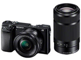 α6000 ダブルズームレンズキット ILCE-6000Y B ブラック [ソニーEマウント(APS-C)] ミラーレス一眼カメラ