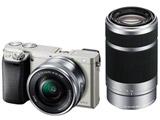 α6000 ダブルズームレンズキット ILCE-6000Y S シルバー [ソニーEマウント(APS-C)] ミラーレス一眼カメラ