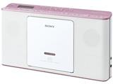 CDラジオ(ラジオ+CD)ピンク ZSE80PC 【ワイドFM対応】