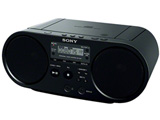 CDラジオ(ラジオ+CD)(ブラック) ZS-S40 BC【ワイドFM対応】