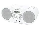 CDラジオ(ラジオ+CD)(ホワイト) ZS-S40 WC【ワイドFM対応】