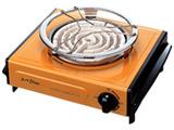 電気コンロ (600W) IEC-105-D オレンジ