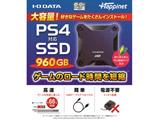 PS4対応 外付けSSD 960GB [HNSSD-960NV]