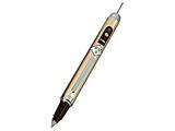 【赤色光】 ボールペン付きレーザーポインター(ニッケルシルバー) BLP-3800NS