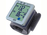 手くび式デジタル血圧計 WSK-1021J シルバー【ビックカメラグループオリジナル】