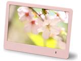【8インチ】デジタルフォトフレーム 8インチワイド(ピンク) BKDP01-80-PK