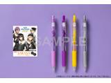 『あんスタ』サラサクリップ カラーボールペン 4本セット <UNDEAD>