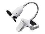 【USB扇風機】 USB-Solar Senpuki (USB&ソーラー 扇風機)