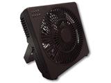 【在庫限り】 【DCモーター搭載】どこでもFAN DCボックス扇風機 M7205-BR ブラウン