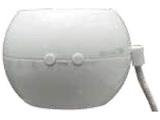 ペットボトル対応超音波式加湿器 「オーブ」 M7012W ホワイト