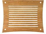 Q4D VENTシリーズラック用棚板(ナチュラルチェリー) Q4DV-NC-SO