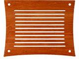 Q4D VENTシリーズラック用棚板(チェリー) Q4DV-CH-SO