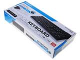 OWL-KB109CBL-BK(ブラック)  有線キーボード[USB/PS2]  Cherry製「青軸」採用 日本語キーボード