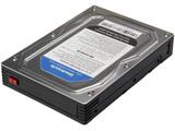 OWL-IE31EU3-BK (2.5インチ HDD/SSD対応 3.5インチHDDサイズ HDDケース 内蔵/外付け両対応)