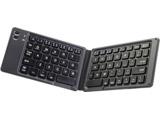 キーボード  ブラックxグレー OWL-BTKB6501-BKGY [Bluetooth /ワイヤレス]