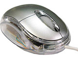 USB光学式ミニマウス(銀) OPMOUSESV [有線マウス]