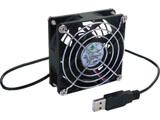 BIGFAN80U for Men 8cm角ファンUSB接続卓上扇風機 [USB扇風機] [USB扇風機]