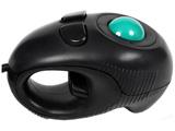 有線光学式トラックボール[USB 1.55m・Win] ハンディー (4ボタン・ブラック) GM-OPTB02