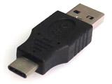 [USB-C オス⇔オス USB-A]3.0変換アダプタ ブラック GMC4
