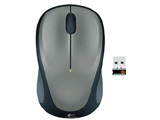 M235rSV 光学式ワイヤレスマウス(Unifying対応/3ボタン/シルバー) [無線マウス]