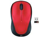 M235rRD 光学式ワイヤレスマウス(Unifying対応/3ボタン/レッド) [無線マウス]