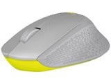 M331GR マウス グレー/イエロー  [光学式 /3ボタン /USB /無線(ワイヤレス)]
