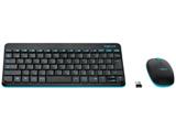 ワイヤレスキーボード[USB 2.4GHz・Win/Chrome]&マウス MK245 NANO (ブラック) MK245nBK