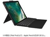 【在庫限り】 iK1272BKA(ブラック)  12.9インチiPad Pro用 SLIM COMBO iK1272 Smart Connectorテクノロジー搭載 キーボード付きケース