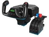 ロジクール プロ フライト ヨーク & スロットル クアドラント シミュレーション コントローラー GPFYS