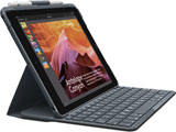 iK1053BK ブラック SLIM FOLIO for iPad (5th and 6th generation) Bluetooth対応 一体型キーボードケース