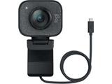 ウェブカメラ マイク内蔵 USB-C接続 StreamCam グラファイト コントラスト C980GR [有線]