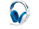 G335WH ゲーミングヘッドセット  ホワイト [φ3.5mmミニプラグ /両耳 /ヘッドバンドタイプ]