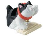 猫日和シリーズ メガネホルダー(パソコン ブチ)SCZ1583BW