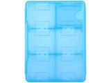 【在庫限り】 3DS/DS用 ダブルカードケース12 ブルー [3WF1208]