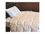 【羽毛布団】ポーランド産 ホワイトグースダウン95% 生毛ふとん PR-310B2(肌掛/230×230cm)[日本製]