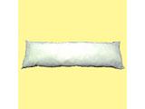 DR50160 ロングサイズ抱きまくら(側生地サイズ:160×50cm) ホワイト 【日本製】