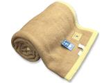 キャメル毛布(シングルサイズ/140×200cm)