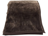 ラフィーナニューマイヤー毛布(シングルサイズ/140×200cm/ブラウン) UM-F16-S-BR