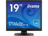 【在庫限り】 ProLite E1980SD-B2 (19型/1280×1024/TNパネル/非光沢/D-Sub/DVI-D/スピーカー搭載/マーベルブラック)