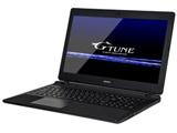 ゲーミングノートPC G-Tune NGN15EKM8S2H1X5DW ブラック [Win10 Home・Core i7・15.6インチ・GTX 1050・メモリ8GB]