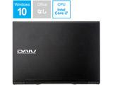 ノートPC DAIV BC-DA87M16S5R26-191 ブラック [Core i7・15.6インチ・SSD 512GB・メモリ 16GB]