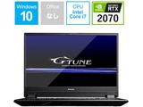 ゲーミングノートPC G-Tune BC-GN1597R274K-192 (Core i7・15.6インチ・メモリ 16GB・RTX 2070)