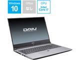 ノートPC DAIV BC-DAIVN15G165-192 [Core i7・15.6インチ・SSD 512GB・HDD 1TB・メモリ 16GB]
