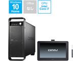 DAWSET107S5M16H デスクトップパソコン DAIV(13.3型 液晶タブレット Wacom One付属)  [モニター無し /HDD:1TB /SSD:512GB /メモリ:16GB]