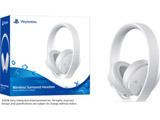 ワイヤレスサラウンドヘッドセット ホワイト [PS4] [CUHJ-15007J2]