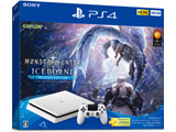 """PlayStation4 """"モンスターハンターワールド:アイスボーン マスターエディション"""" Starter Pack White [ゲーム機本体] [CUHJ-10031]"""